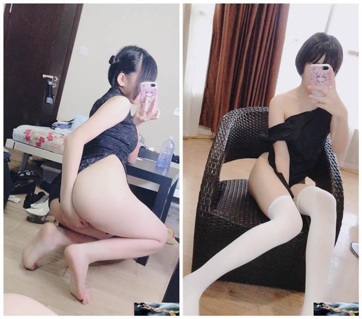 网红少女@悠宝之清纯与淫欲的进化 白袜黑旗袍[47P/1V/153MB]