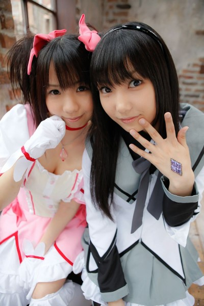 Lenfried & Tsukushi Madoka Nopan Yuri【19P】