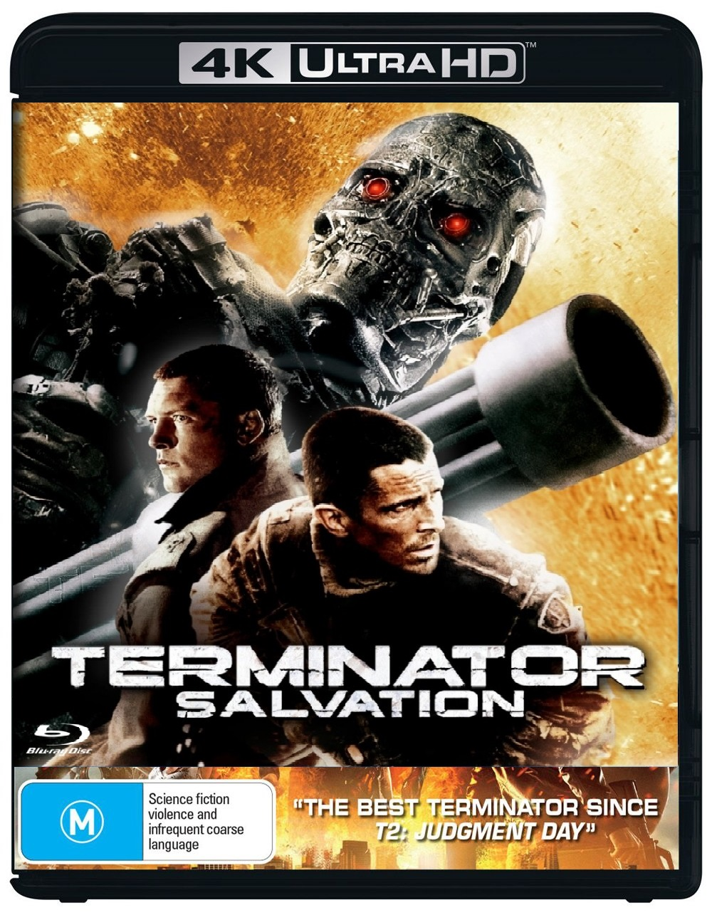Terminator Salvation 2009 Complete Uhd Bluray Coaster