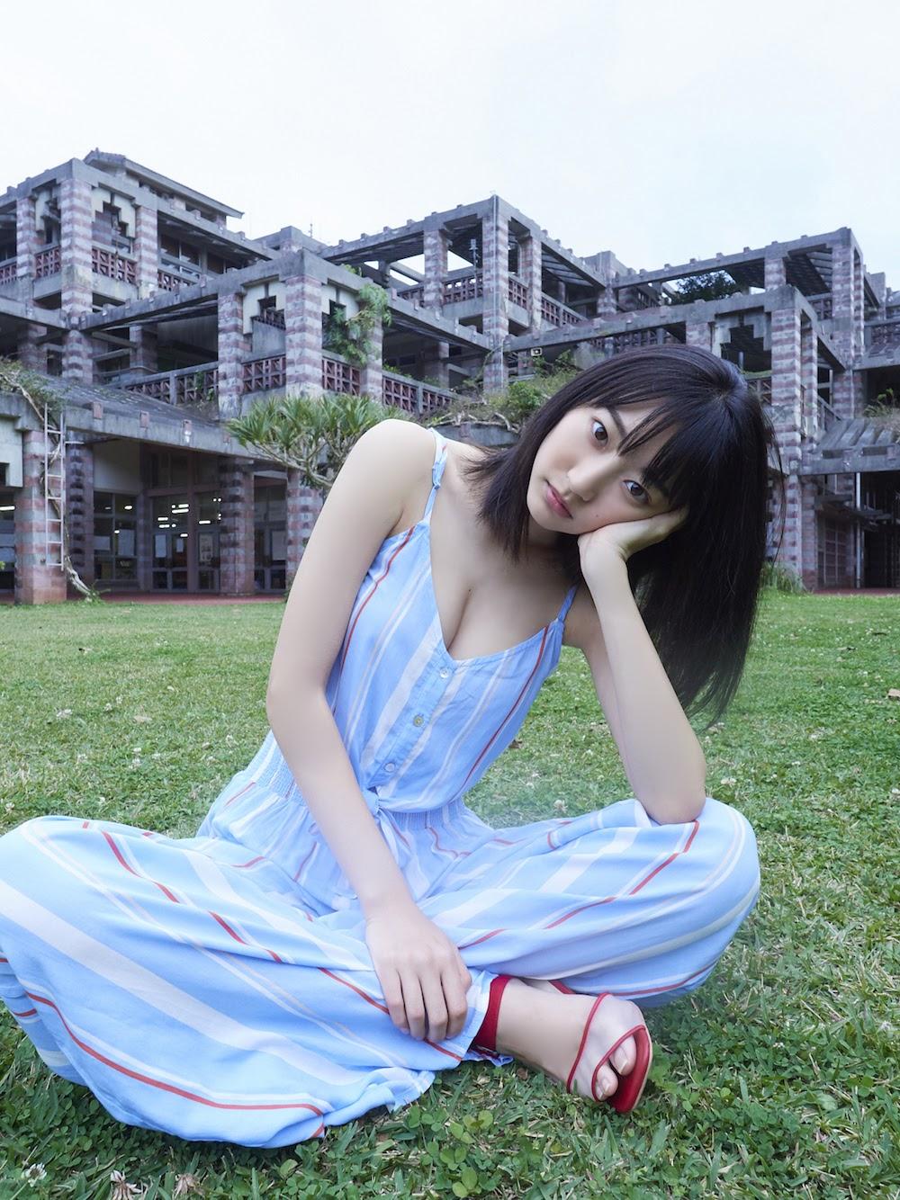 武田玲奈最新写真集图透,南国风情性感至极