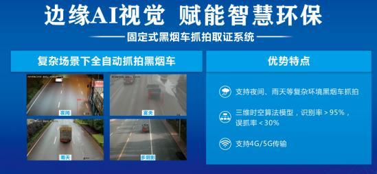继上海环博会,火眼智能固定式黑烟车抓拍系统亮相北京环保展